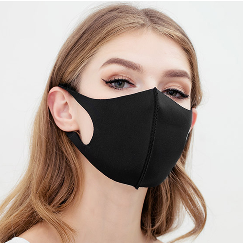 black virus mask
